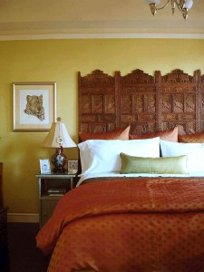 Indian Screen Headboard