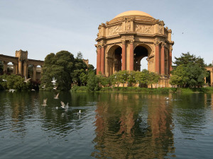 Palace of Fine Arts with Birds