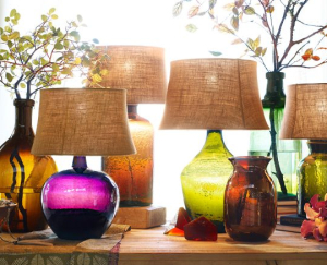 Clift Glass Table Lamps