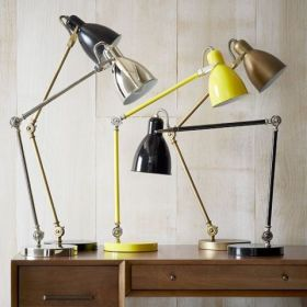 West Elm Industrial Task Lamps