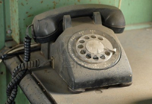 Dusty Rotary Phone