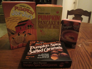 Trader Joe's Pumpkin Items