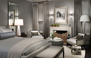 Michael Abrams Silver Bedroom