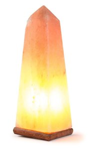 Obelisk Salt Lamp