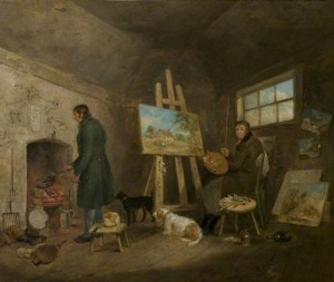 Artist in His Studio Morland