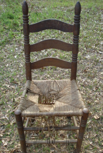 Broken Ladderback Chair