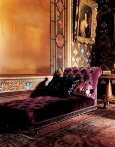 Fainting Couch in Parlor