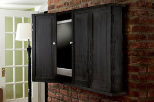 Flat Screen Wall Cabinet