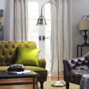 Pier 1 Industrial Floor Lamp