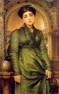 Girl in Green - Leighton