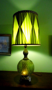 Green Hotel Regency Lamp and Room